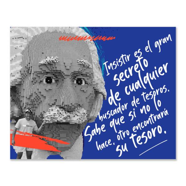 Frase de Albert Einstein del libro Creatividad Wuaitrómica para conquistar imposibles de Juan Carlos Caramés Paz